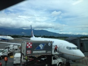Arrival in San Jose, Costa Rica July 20, 2014
