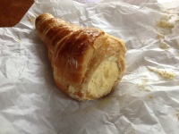 Moch creme filled pastry from in town.